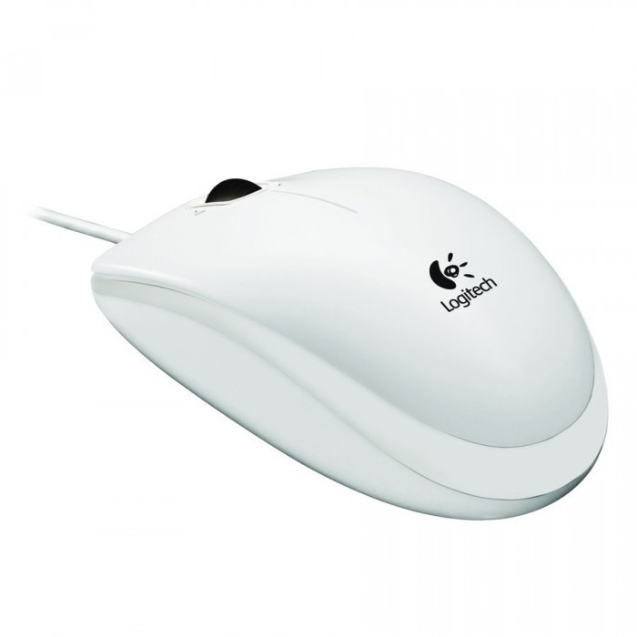 LOGITECH B120 Optical Combo Mouse - WHITE - USB - EMEA 1