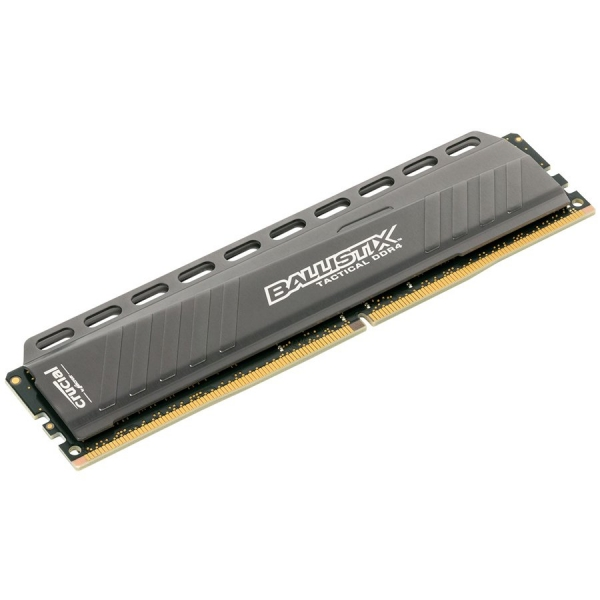Crucial DRAM 8GB DDR4 2666 MT/s (PC4-21300) CL16 DR x8 Unbuffered DIMM 288pin Ballistix Tactical DDR 4 UDIMM , EAN: 649528771193 0