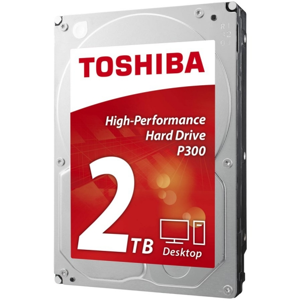 "HDD desktop Toshiba P300 (3.5"" 2TB, 7200RPM, 64MB, NCQ, AF, SATAIII), bulk 0"
