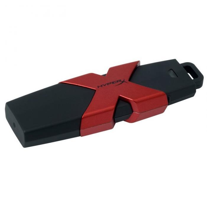 """USB Flash Drive Kingston 256GB HyperX Savage, USB 3.1, viteza de transfer r/w: 350/250 MBs """"HXS3/256GB"""" 0"""