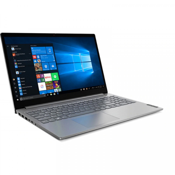 Laptop Lenovo 15.6'' ThinkBook 15 IIL, FHD IPS, Procesor Intel® Core™ i3-1005G1 (4M Cache, up to 3.40 GHz), 8GB DDR4, 256GB SSD, GMA UHD, No OS, Mineral Gray 0