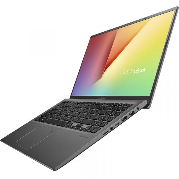 Laptop ASUS 15.6'' VivoBook 15 X512JA, FHD, Procesor Intel® Core™ i5-1035G1 (6M Cache, up to 3.60 GHz), 8GB DDR4, 512GB SSD, GMA UHD, No OS, Grey 1