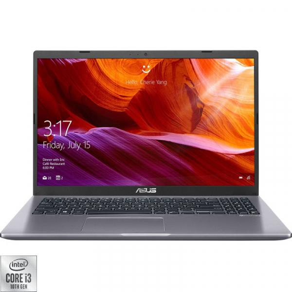 Laptop ASUS 15.6'' X509JA, FHD, Procesor Intel® Core™ i3-1005G1 (up to 3.40 GHz), 8GB DDR4, 256GB SSD, GMA UHD, No OS, Grey 0