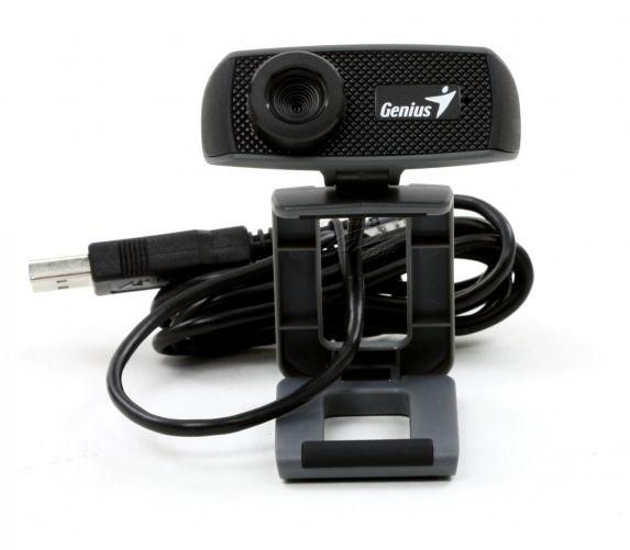 Webcam Genius HD 720p Facecam 1000x, CMOS, 720p up to 30fps, microfon, Black USB, Uvc, Ipm 2