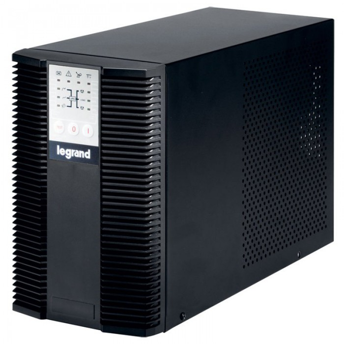 UPS Legrand KEOR LP, Tower, 2000VA/1800W, On Line Double Conversion, Sinusoidal, PFC, 1 RS232 serial port, 1 slot for networkinterface connection (ex. CS121), IN 1x C13, OUT 6x IEC C13 & 2xSHK (Option 0