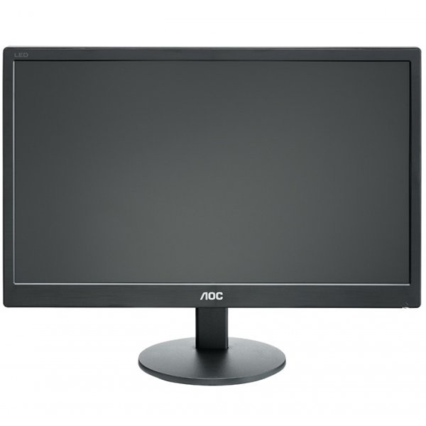 "Monitor LED AOC E2070SWN (19.5"""", WLED, 16:9, 1600 x 900, 5 ms, 20.000.000:1 DCR, 170/160, 250 cd/m2, 16.7M, VGA, VESA 75 mm) 0"