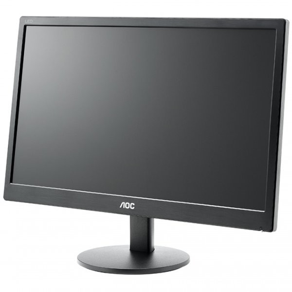 "Monitor LED AOC E2070SWN (19.5"""", WLED, 16:9, 1600 x 900, 5 ms, 20.000.000:1 DCR, 170/160, 250 cd/m2, 16.7M, VGA, VESA 75 mm) 3"