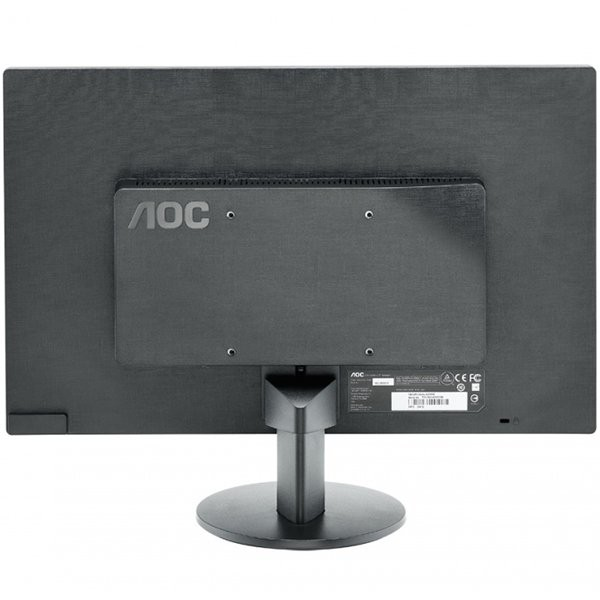 "Monitor LED AOC E2070SWN (19.5"""", WLED, 16:9, 1600 x 900, 5 ms, 20.000.000:1 DCR, 170/160, 250 cd/m2, 16.7M, VGA, VESA 75 mm) 1"