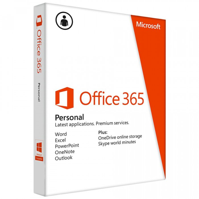 "Licenta Cloud Microsoft Office 365 Personal English Subscriptie 1 an P2""QQ2-00543"" [0]"