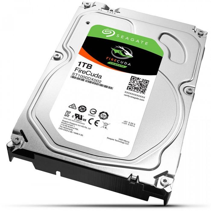 "HDD intern Seagate, 3.5"", 1TB, FireCuda SSHD, SATA3, 7200rpm, 64MB, 8Gb/MLC  [0]"