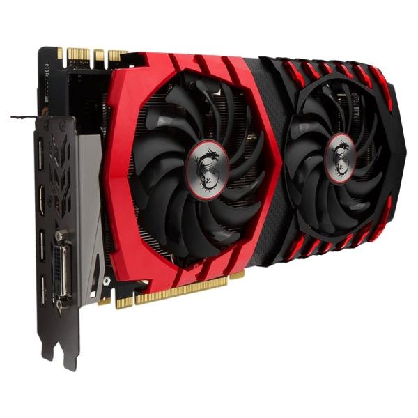 MSI Video Card GeForce GTX 1070 GDDR5 8GB/256bit, 1582MHz/8008MHz, PCI-E 3.0 x16, 3xDP, HDMI, DVI-D, Twin Frozr VI Cooler (Double Slot), Retail 0