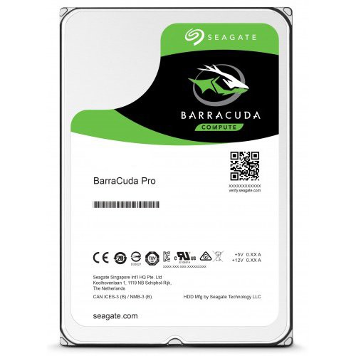 """Barracuda Pro, 6TB, SATA 3.0, Buffer 256 MB, 7200 rpm, Discs/Heads 6/12, Average Seek 8.5 ms, 3,5"""" """"ST6000DM004"""" [0]"""