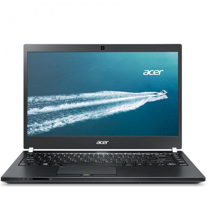 """ACER, TravelMate TMP648-M-578H, 14"""", FHD, Intel Core i5-6200U, DDR4 8GB (2x4), SSD 128GB, SATA 1TB 5400rpm, no ODD, VGA Int., HDMI, WiFi, BT 4.0, Gbit LAN, HD webcam, 3 cell batt., 3G & CAT4 LTE, back [0]"""