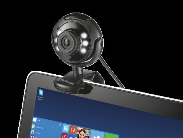 Camera WEB Trust SpotLight Pro Webcam LED Lights 2