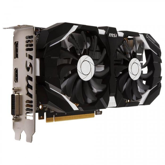 MSI Video Card GeForce GTX 1060 OC GDDR5 6GB/192bit, 1544MHz/8008MHz, PCI-E 3.0 x16, DP, HDMI, DVI-D, Sleeve 2X Fan Cooler (Double Slot), Retail 1