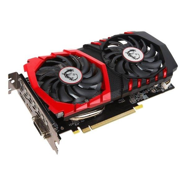 MSI Video Card GeForce GTX 1050 Ti GAMING X GDDR5 4GB/128bit, 1354MHz/7008MHz, PCI-E 3.0 x16, DP, HDMI, DVI-D, Twin Frozr VI Cooler LED(Double Slot), Retail 1