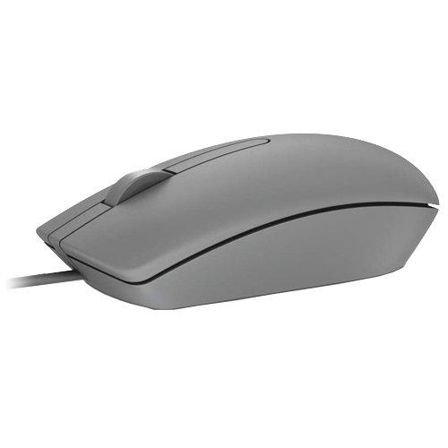 Dell MS116 USB 3-button Optical Mouse, Grey 0