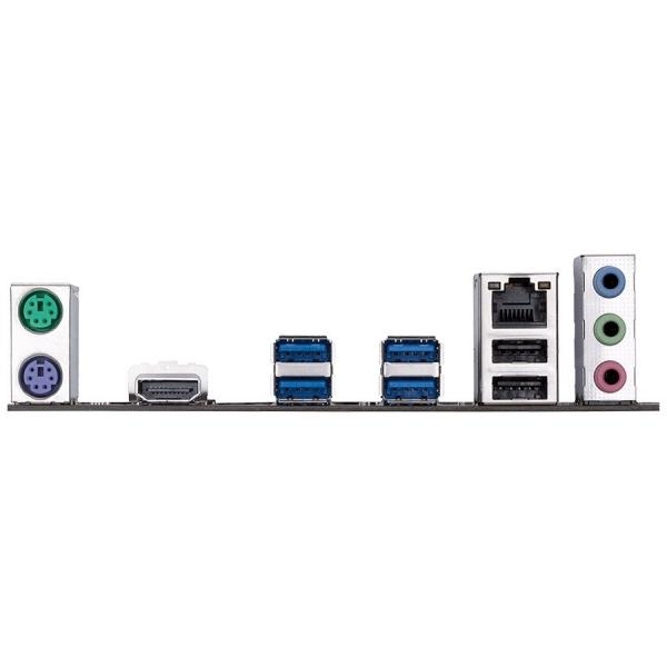 GIGABYTE Main Board Desktop Intel  Z270 (S1151, 4xDDR4, Realtek ALC887, 1x10/100/1000 Mbit, 1xPCIEX16, 2xPCIEX4, 3xPCIEX1, 1xM.2, 6xSATA 6Gb/s, 2xPS/2, 1xHDMI, 4xUSB3.1Gen1, 2xUSB2.0, 1xRJ-45) ATX, Re 1