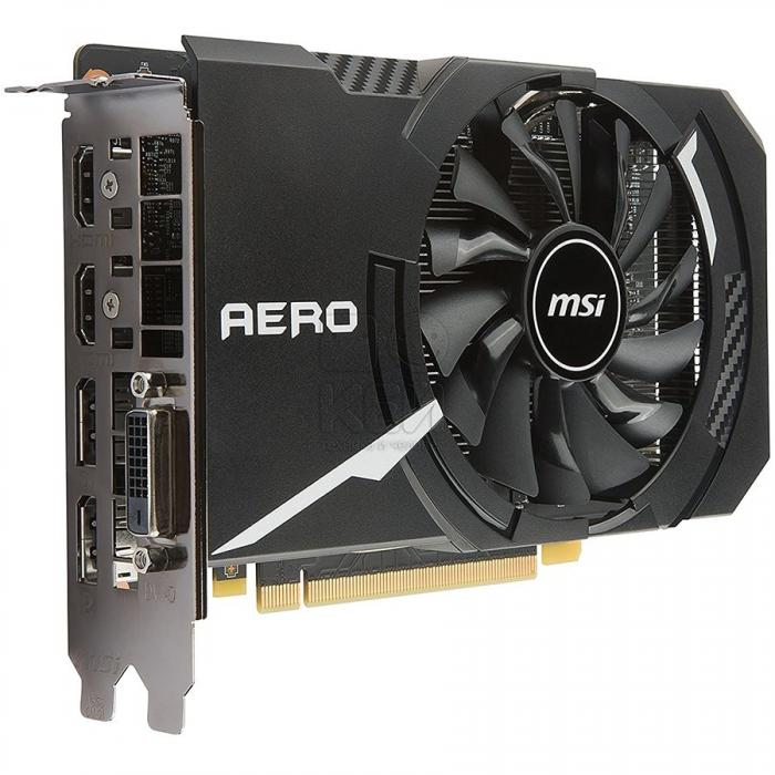 MSI Video Card GeForce GTX 1060 OC GDDR5 6GB/192bit, 1544MHz/8008MHz, PCI-E 3.0 x16, 2xDP, 2xHDMI, DVI-D, Single Torx fan Cooler (Double Slot), Retail 0