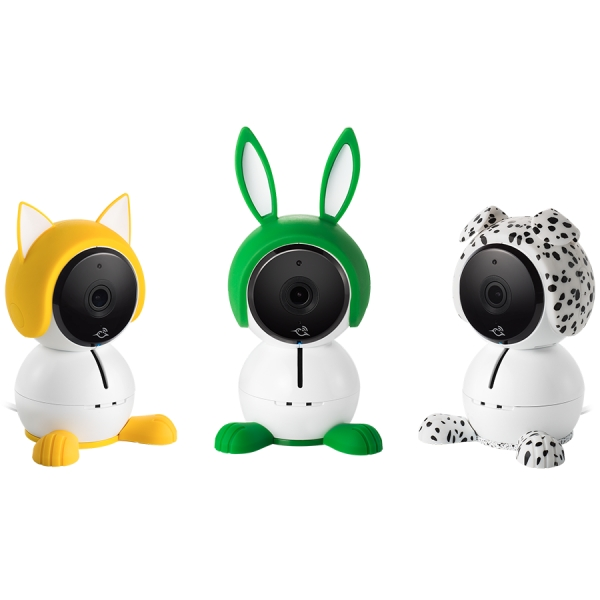 Arlo Baby accessory characters are a fun to dress up your camera and add a bit of playfulness to your nursery. They have a convenient slip-on, slip-off design, allowing you to easily disguise your cam 0