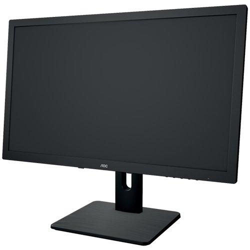 AOC E2275PWQU 21.5 inch Monitor (VGA, DVI, HDMI, USB, DisplayPort, 1920x1080, 60Hz, 2ms response time, Pivot, speakers (Black) 3