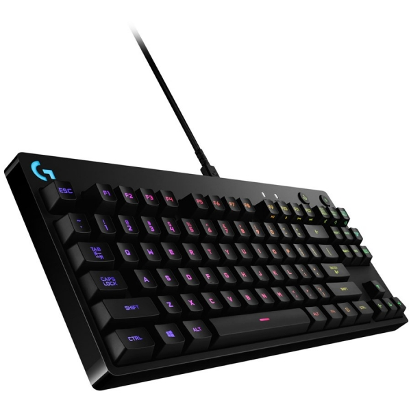 "LOGITECH G Pro Mechanical Gaming Keyboard - US INT\'L - USB - INTNL ""920-008294"" 1"