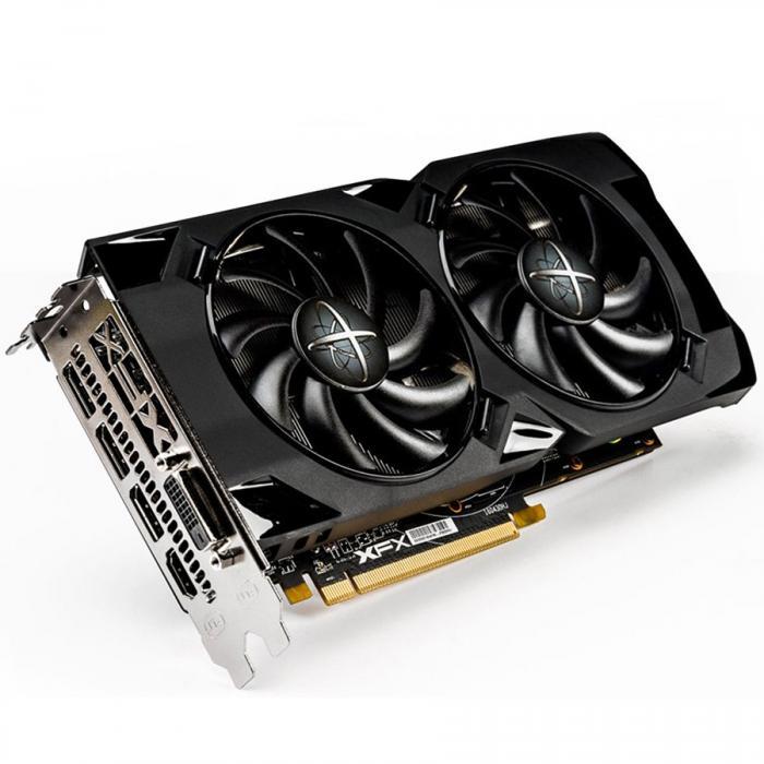 XFX Video Card AMD Radeon RX 470 8GB D5 DD BP 3xDP HDMI DVI 0