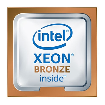 Intel CPU Server Xeon-SC 3104 (6-core, 6/6 Cr/Th, 1.70Ghz, noHT, noTurbo, 8.25MB, noGfx, 2xUPI 9.60GT/s, DDR4-2133, 1xFMA_AVX-512, Std.RAS, FC-LGA14-3647 Socket-P), Box 0