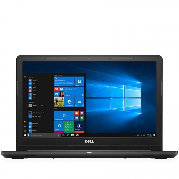 Dell Inspiron 15 (3567) 3000 Series, 15.6-inch FHD (1920x1080), Intel Core i5-7200U, 4GB (1x4GB) DDR4 2400MHz, 256GB SSD, DVD+/-RW, AMD Radeon R5 M430 2GB, WiFi 802.11bgn, Blth, non-Backlit Keyb, 4-ce 0