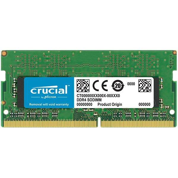 """Memory type DDR4, 8GB, 2400 MHz, CL 17, Nominal voltage 1.2 V, Chip Organization 1024Mx64 """"CT8G4SFD824A"""" 0"""