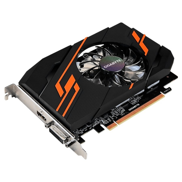 GIGABYTE Video Card GeForce GT 1030 OC GDDR5 2GB/64bit, 1265MHz/6008MHz, PCI-E 3.0 x16, HDMI, DVI-D, Cooler, Retail 1
