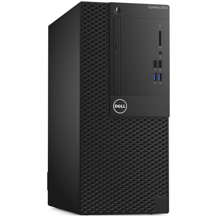 Dell Optiplex 3050 MiniTower, Intel Core i5-7500 (6MB Cache, 3.40GHz), 4GB (1x4GB) DDR4 2400MHz, 500GB 3.5inch SATA (7200rpm), Intel Graphics, DVD+/-RW, VGA video port, Dell USB Optical Mouse, KB216 K 0