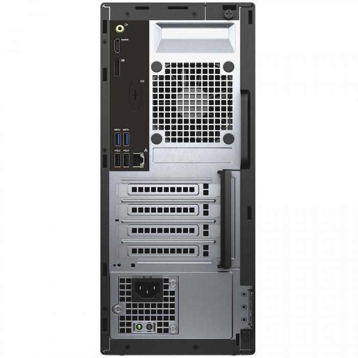 Dell Optiplex 3050 MiniTower, Intel Core i5-7500 (6MB Cache, 3.40GHz), 4GB (1x4GB) DDR4 2400MHz, 500GB 3.5inch SATA (7200rpm), Intel Graphics, DVD+/-RW, VGA video port, Dell USB Optical Mouse, KB216 K 1