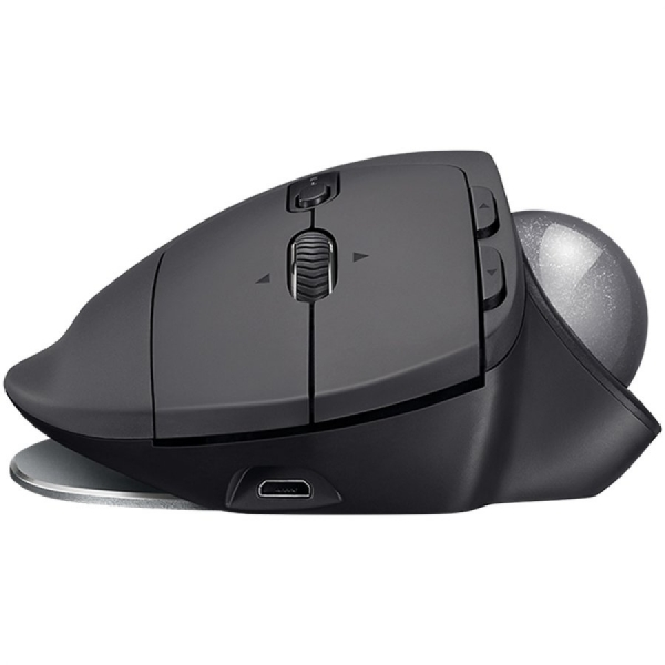 "MOUSE LOGITECH. bluetooth, 2000dpi, 8 butoane, 1 rotita scroll, 1 trackball, ""MX Ergo"", graphite, ""910-005179"" (include timbru verde 0.1 lei) 2"