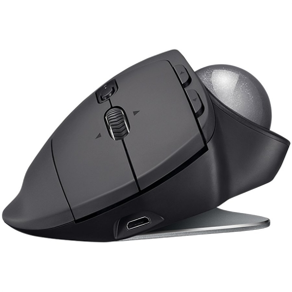 "MOUSE LOGITECH. bluetooth, 2000dpi, 8 butoane, 1 rotita scroll, 1 trackball, ""MX Ergo"", graphite, ""910-005179"" (include timbru verde 0.1 lei) 1"