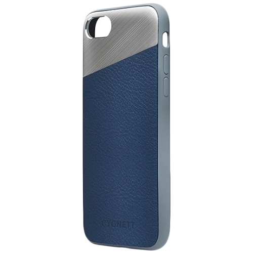 CYGNETT Element Leather Case for iPhone 7 Plus - Navy 0
