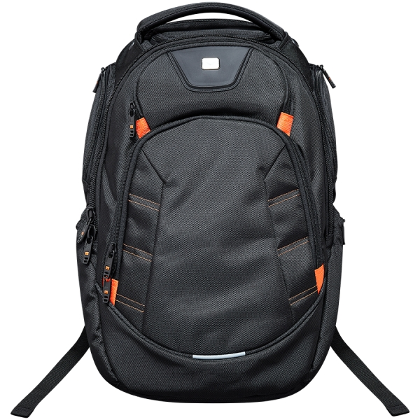 CANYON Backpack for 15.6\'\' laptop, black (Material: 1680D Polyester) 0