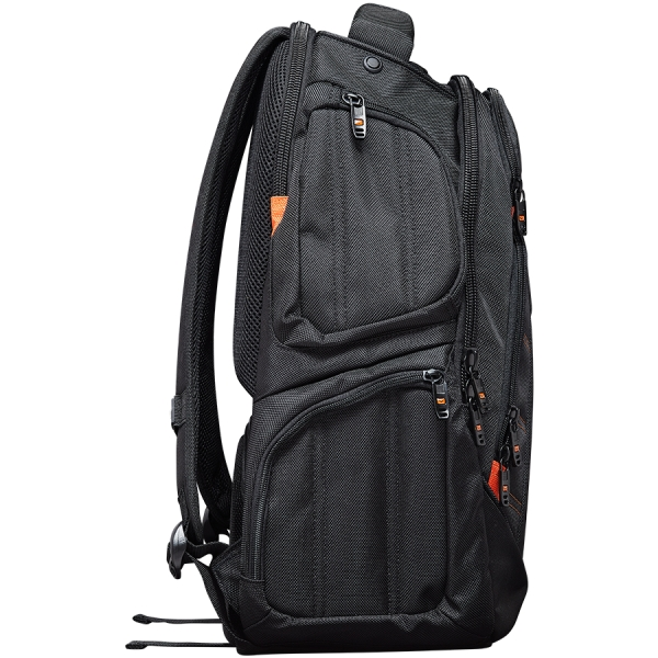 CANYON Backpack for 15.6\'\' laptop, black (Material: 1680D Polyester) 2