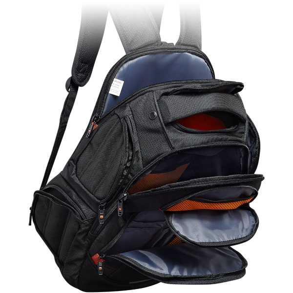 CANYON Backpack for 15.6\'\' laptop, black (Material: 1680D Polyester) 1
