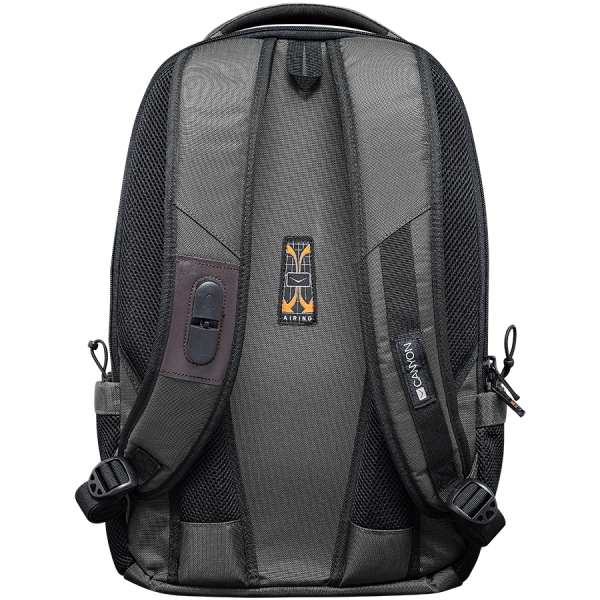 CANYON Backpack for 15.6\'\' laptop, dark gray (Material: 840D Nylon) 3