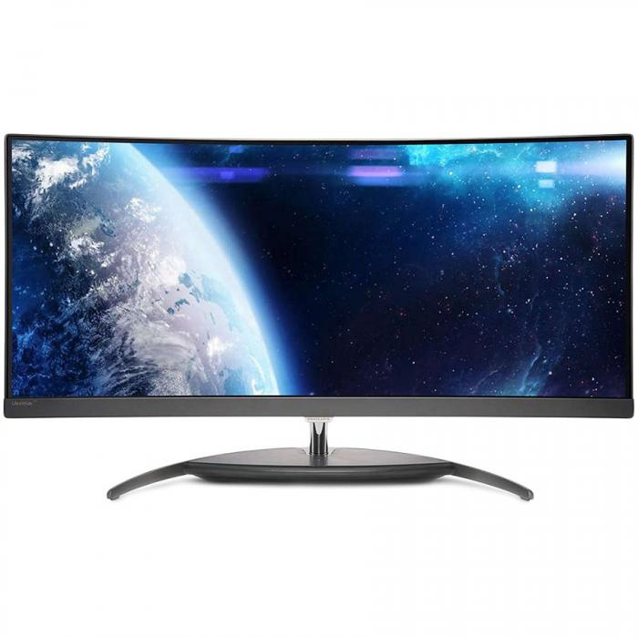 Monitor LED PHILIPS BDM3490UC/00 34\'\' Curved UltraWide, 3440x1440, IPS panel, 50M:1, 300cd/m2, 5ms, 3xHDMI, DisplayPort 0