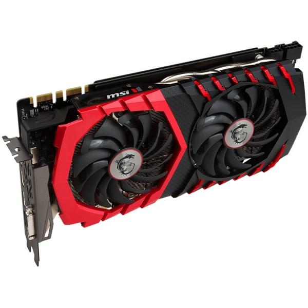 MSI Video Card GeForce GTX 1070 Ti GAMING GDDR5 8GB/256bit, 1683MHz/8008MHz, PCI-E 3.0 x16, 3xDP, HDMI, DVI-D, ARMOR FAN X2(Double Slot), Retail 1