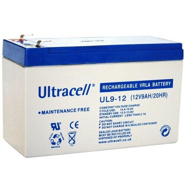 VRLA Ultracell 12V 9Ah 0