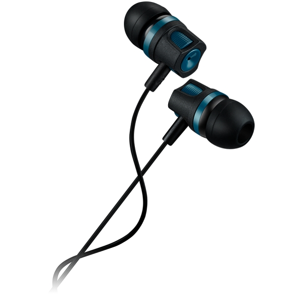 CANYON Stereo earphones with microphone, Green, cable length 1.2m, 21.5*12mm, 0.011kg 1