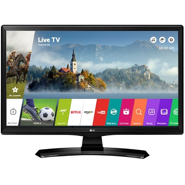 """TV/Monitor LED LG 24MT49S-P LED 23.6"""" WiFi, 1366x768, 5M:1, 200nits, 14ms, 178/178. HDMI 1.4, SCART, CI, Speakers: 2x5W, USB2.0, tuner DVB-T2/C/S2, VESA 75x75 0"""