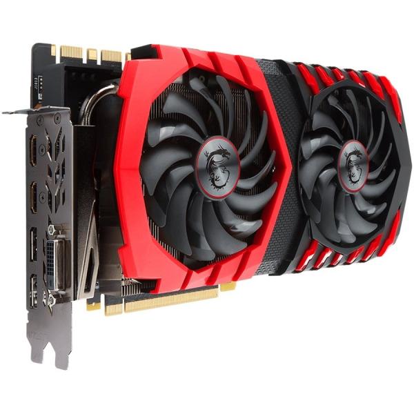 MSI Video Card GeForce GTX 1080 Ti GAMING GDDR5X 11GB/352bit, 1493MHz/11016MHz, PCI-E 3.0 x16, 2xDP, 2xHDMI, DVI-D, Twin Frozr VI Cooler LED(Double Slot), Backplate, Retail 1