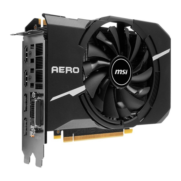MSI Video Card GeForce GTX 1070 AERO ITX 8GB GDDR5 8GB/256bit, 1721/1531MHz, PCI-E 3.0, DisplayPort x 2 (Version 1.4)/HDMI x 2 (Version 2.0)/DL-DVI-D, Retail 1