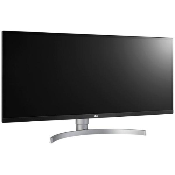 Monitor LED LG 34WK650-W 34\'\' FreeSync, IPS, 2560 x 1080, 300cd, 178/178, 1000:1, 5ms, AntiGlare, HDMI, DP, Audio out, 2x5W speakers, VESA 100X100, HDCP2.2, HDR10, height 3