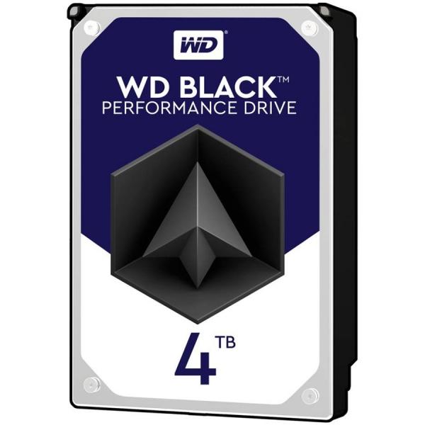 """HDD  4TB 7200 256MB S-ATA3  WD BLACK """"WD4005FZBX"""" 0"""