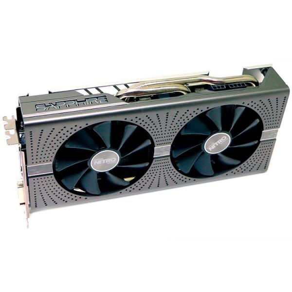 Sapphire Video Card AMD Radeon NITRO+ RX 580 8G GDDR5 DUAL HDMI / DVI-D / DUAL DP W/BP (UEFI) SPECIAL EDITION (Samsung memory) 0